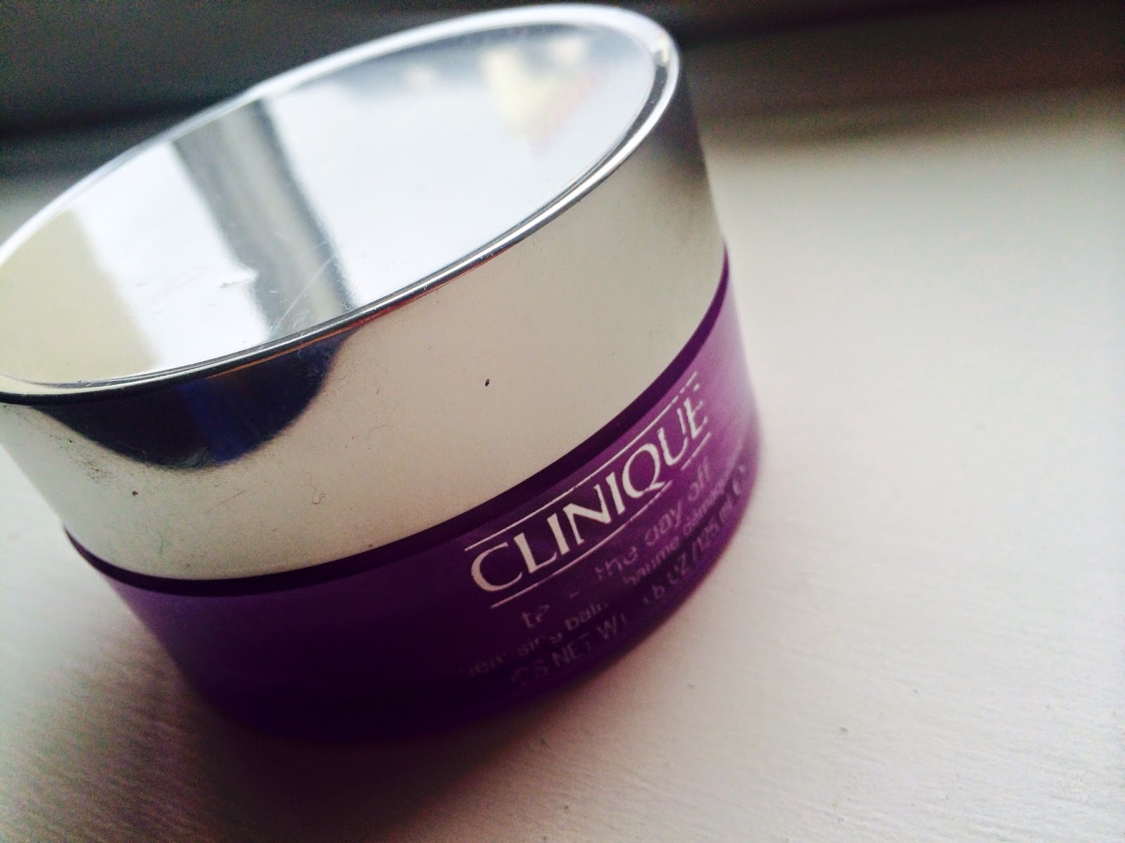Clinique's Take the Day Off Cleansing balm