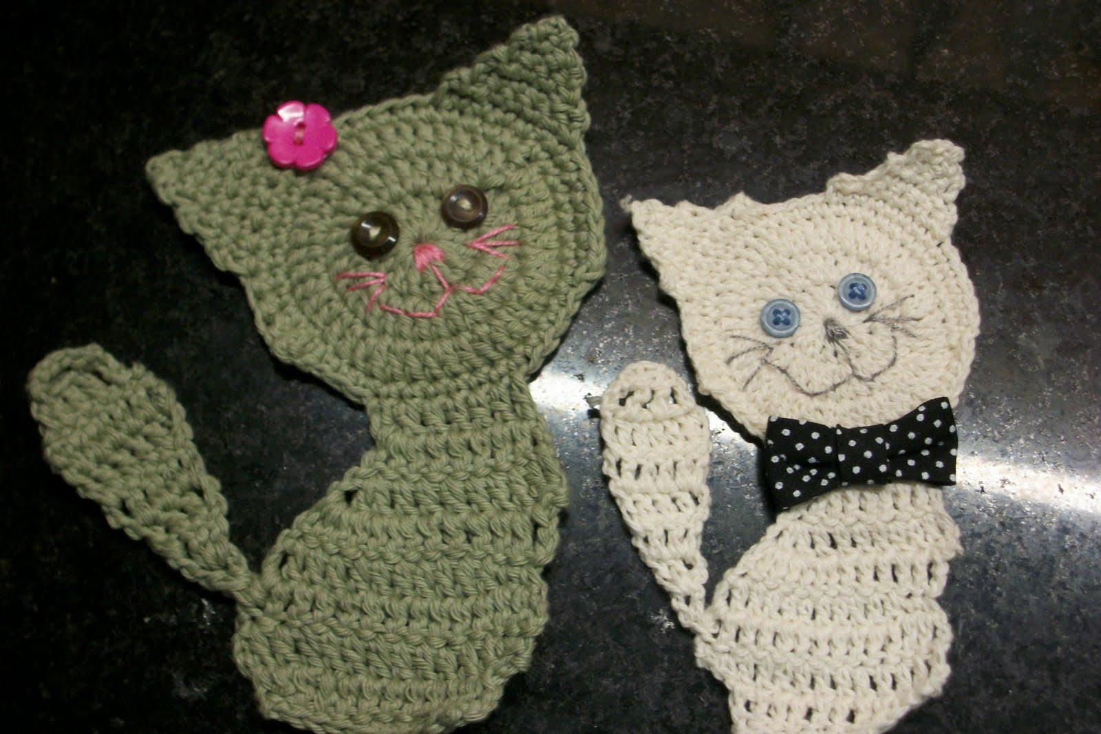 Haciendo puntos: Gatitos crochet