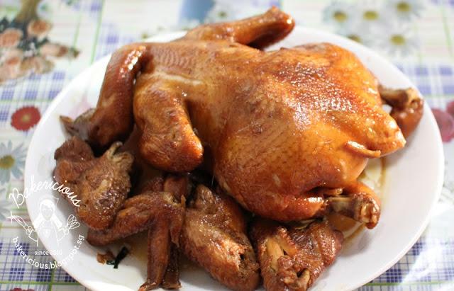 maryland chicken or 1 chicken marinated ingredients 4 cloves garlic ...