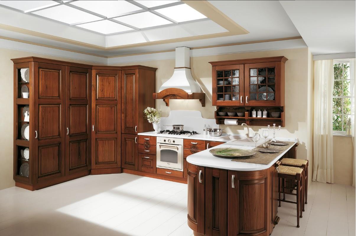 Arredamenti gargante le nostre cucine classiche - Aerre cucine classiche ...