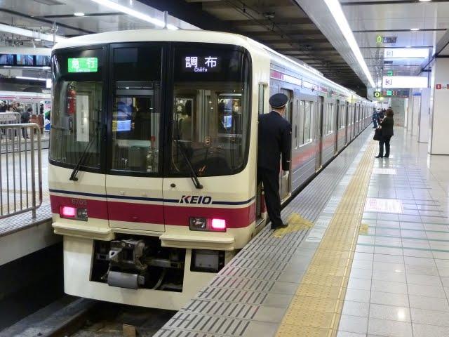 京王電鉄 急行 調布行き1 8000系(東京電力計画停電に伴う運行)3月14日