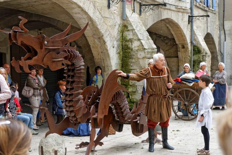 Foire de Beaucaire : la légende  du Drac