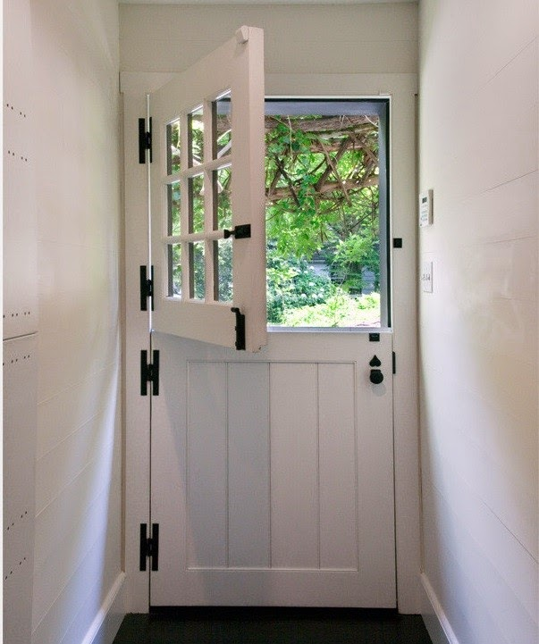Two men and a little farm dutch door inspiration thursday for Exterior back door with window that opens
