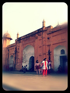 travel, Photo taken on February 2013, Lalbagh Fort, Dhaka, Bangladesh