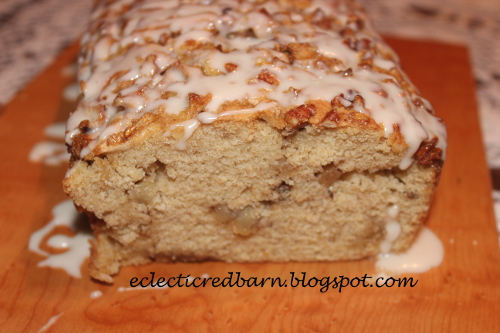 Apple and pecan Bread @Eclectic Red Barn