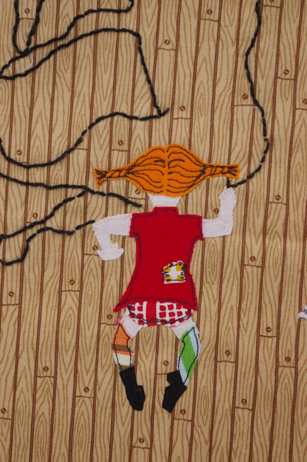 Cocorico Bee Block Pippi Longstocking During Quiet Time
