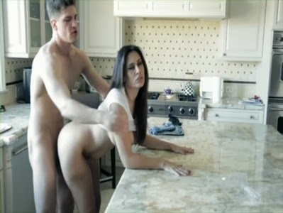 Sex Movies: MILF Raylene Fucked In The Kitchen