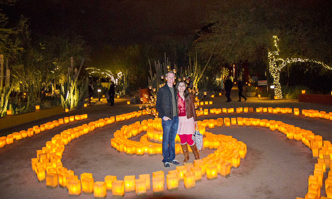 Las Noches de las Luminarias: Desert Botanical Garden Phoenix