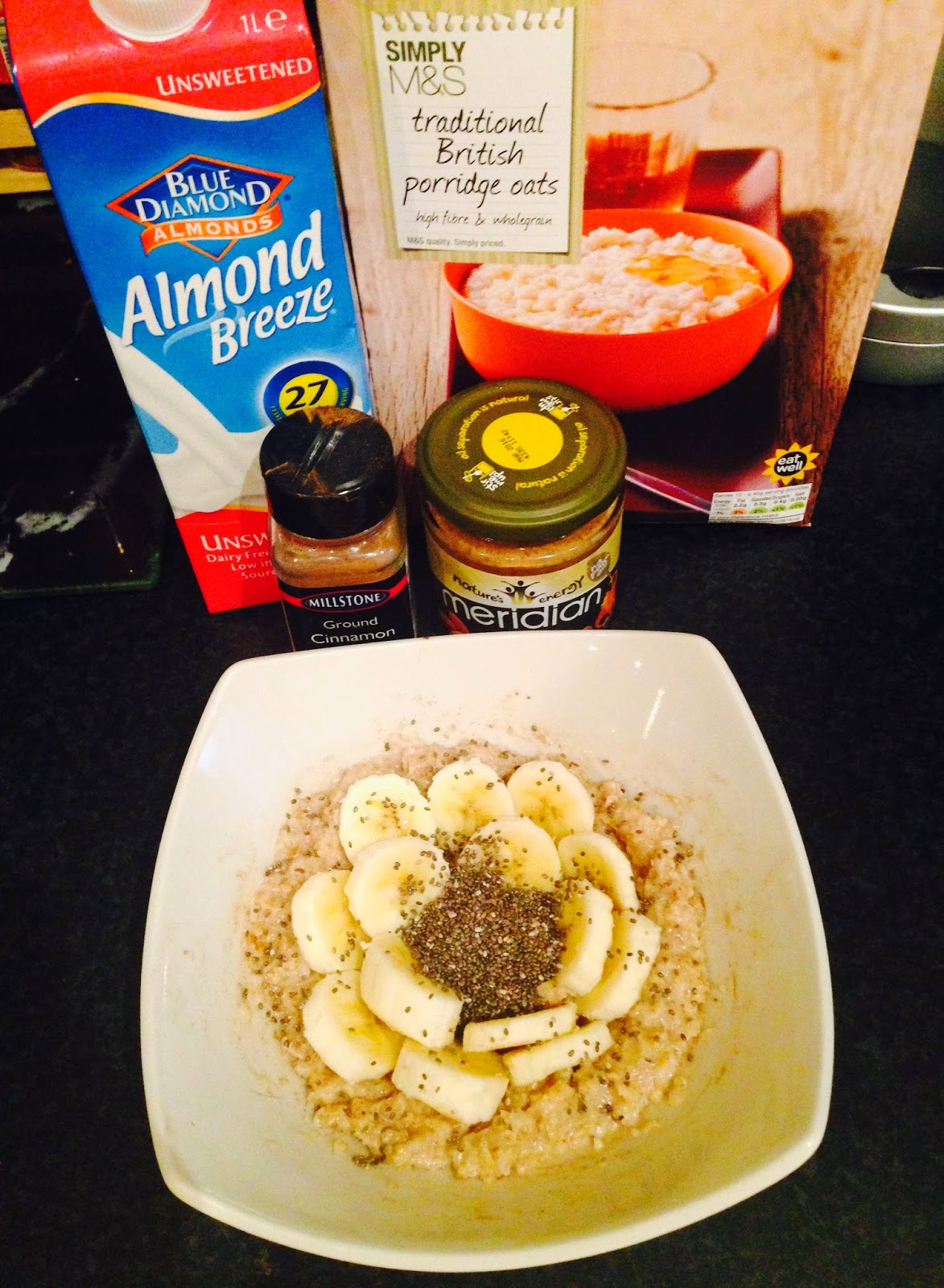 Porridge Healthy What I Eat in a Day Glasgow Girls Guide