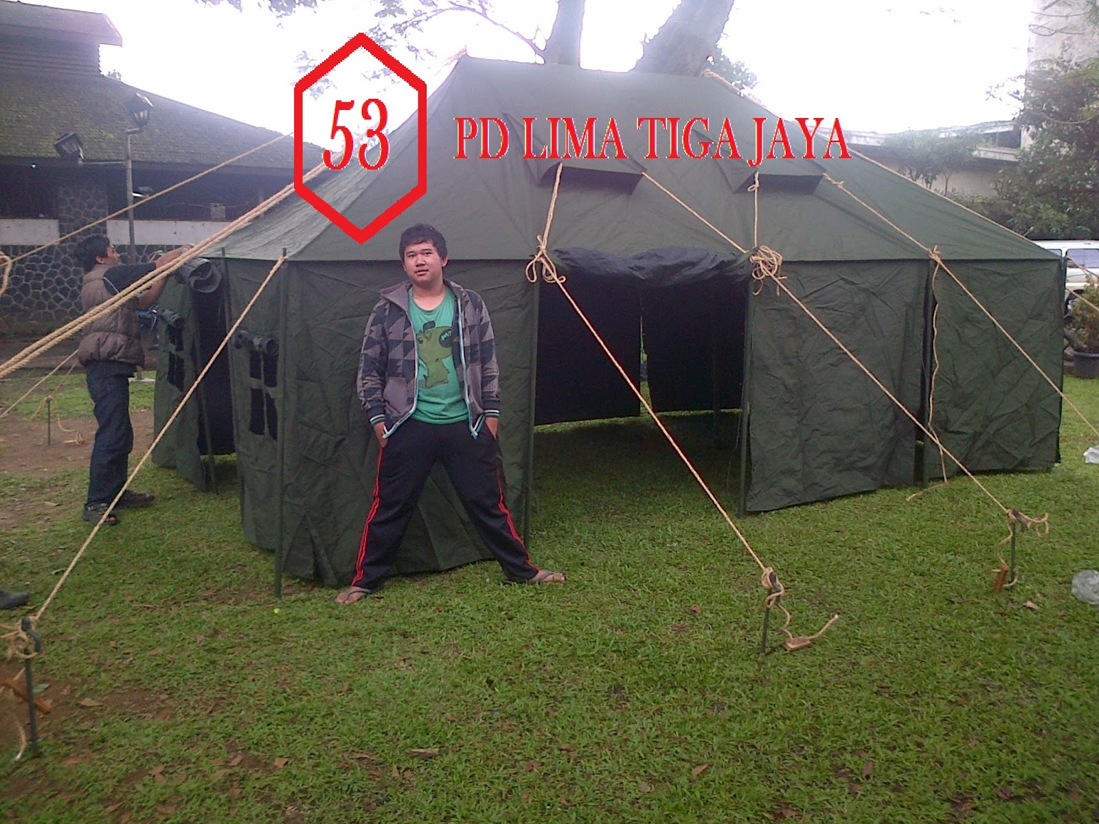jual tenda komando murah bandung
