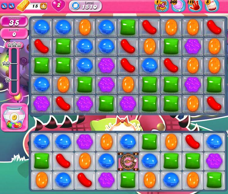 Candy Crush Saga 1510