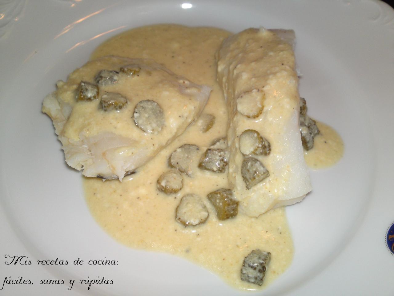 Mis recetas de cocina|FSR: Bacalao con salsa de mostaza