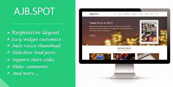 Ajbspot - Responsive MultiPurpose Blogger Template