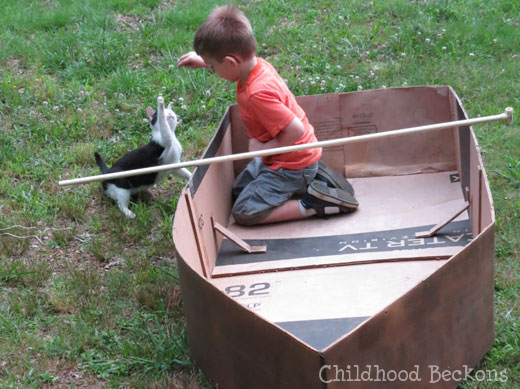 Ideas for group play for fishing pretend play