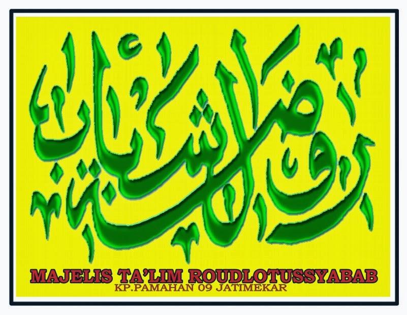 majelis talim amp shalawat roudlotusyabab new logo rds