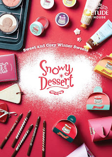 Christmas Season 2015, Etude House Snowy Dessert collection, Beauty Update