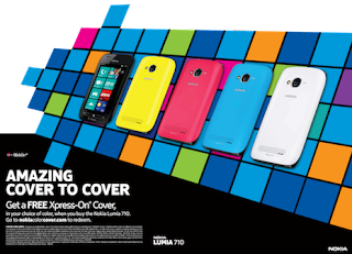 Nokia Lumia 710 Available Free Xpress-on Covers