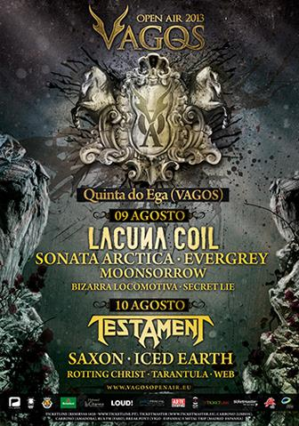 Vagos Open Air. Cartel Definitivo. 2013