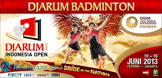 Daftar Pemain Peringkat 8 Unggulan di Djarum Indonesia Open 2013