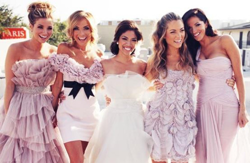 The Key To Successfully Mixing And Matching Bridesmaid Dresses Accessories Is Choose A Few Main Elements That Will Be Same Throughout