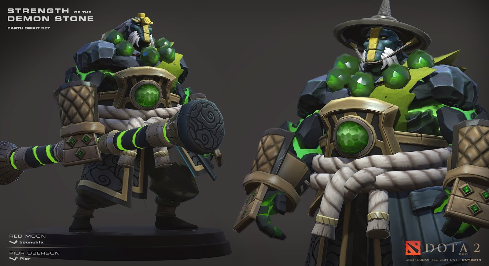 anyone know how to buy the earth spirit set with the hat dota 2