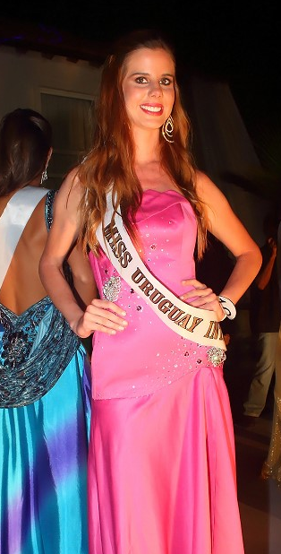 Miss Internacional International Uruguay 2013 Natalia Sanchez