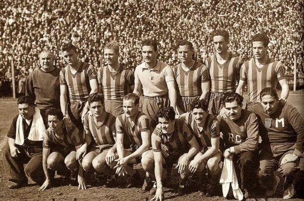 Rosario Central Old Photo 1951