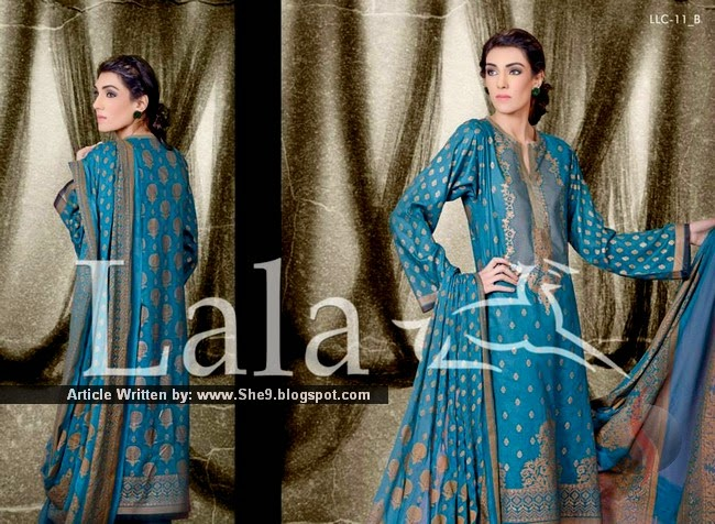 LALA CLASSIC CRINKLE Lawn Collection 2015