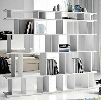 Decorar un monoambiente con estilo ideas para decorar for Librerie per ufficio economiche