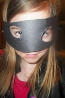 Homemade Ninja Costume