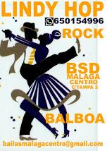 BALBOA  PARA LOCOS POR EL SWING  EN MÁLAGA EN BSD MÁLAGA CENTRO.