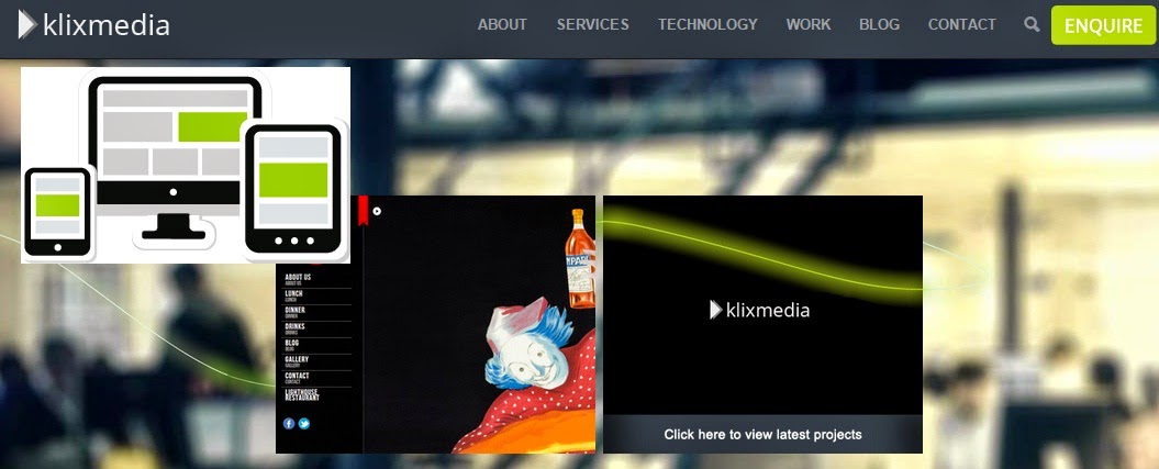 klixmedia website designs