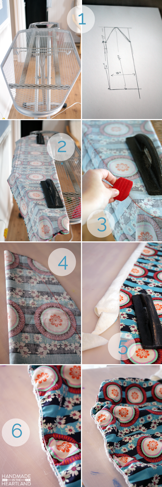 how to Make an Ironing Board Cover