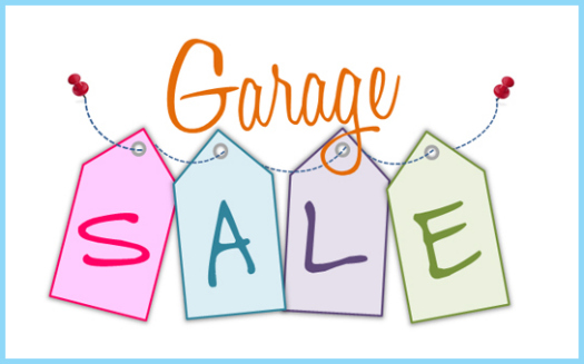 Iheart organizing project purge garage sale for Garage sales online