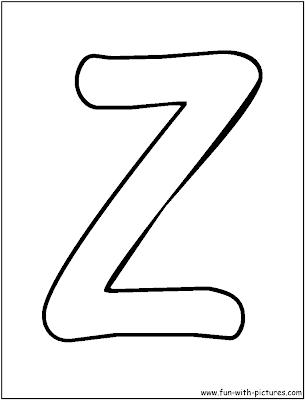 Bubble Letter Z