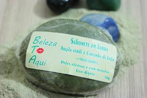Barra argila verde + castanha da Índia