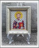 Икона святого архиепископа Новгородского Геннадия