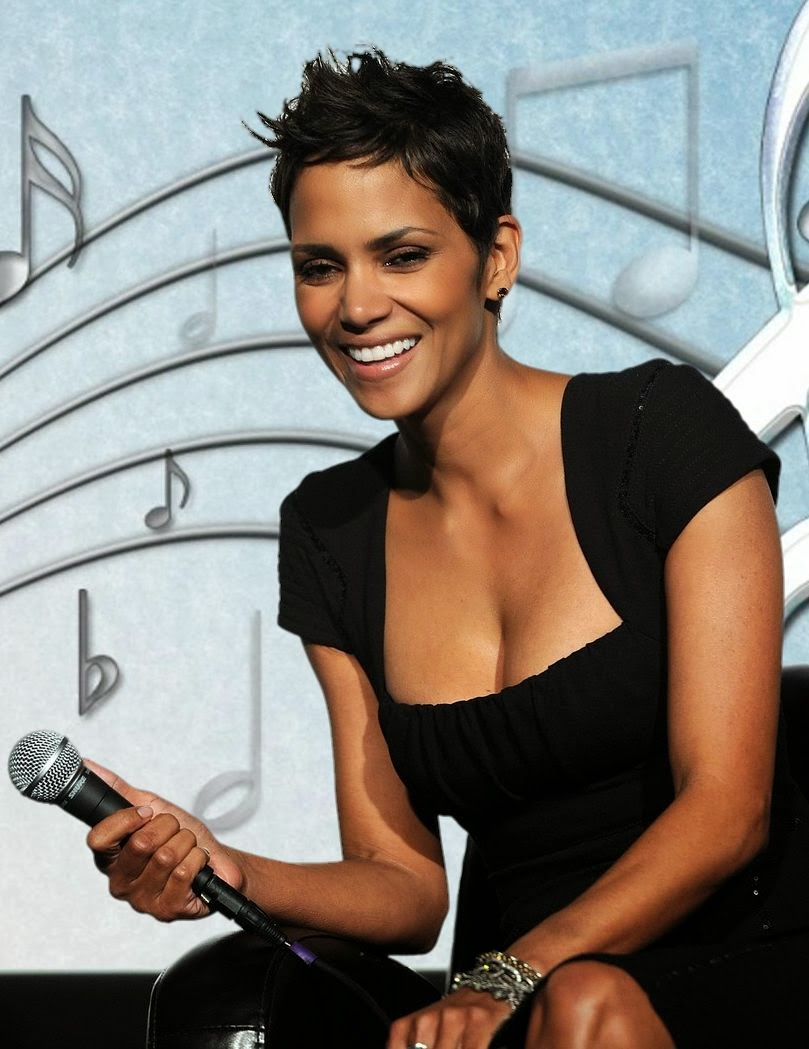 Halle Berry sings Mary's Boy Child
