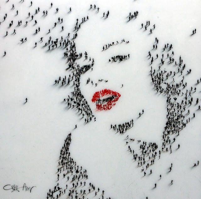 Marilyn-Monroe-portre-tasarim