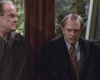 Frasier and Niles, at bay