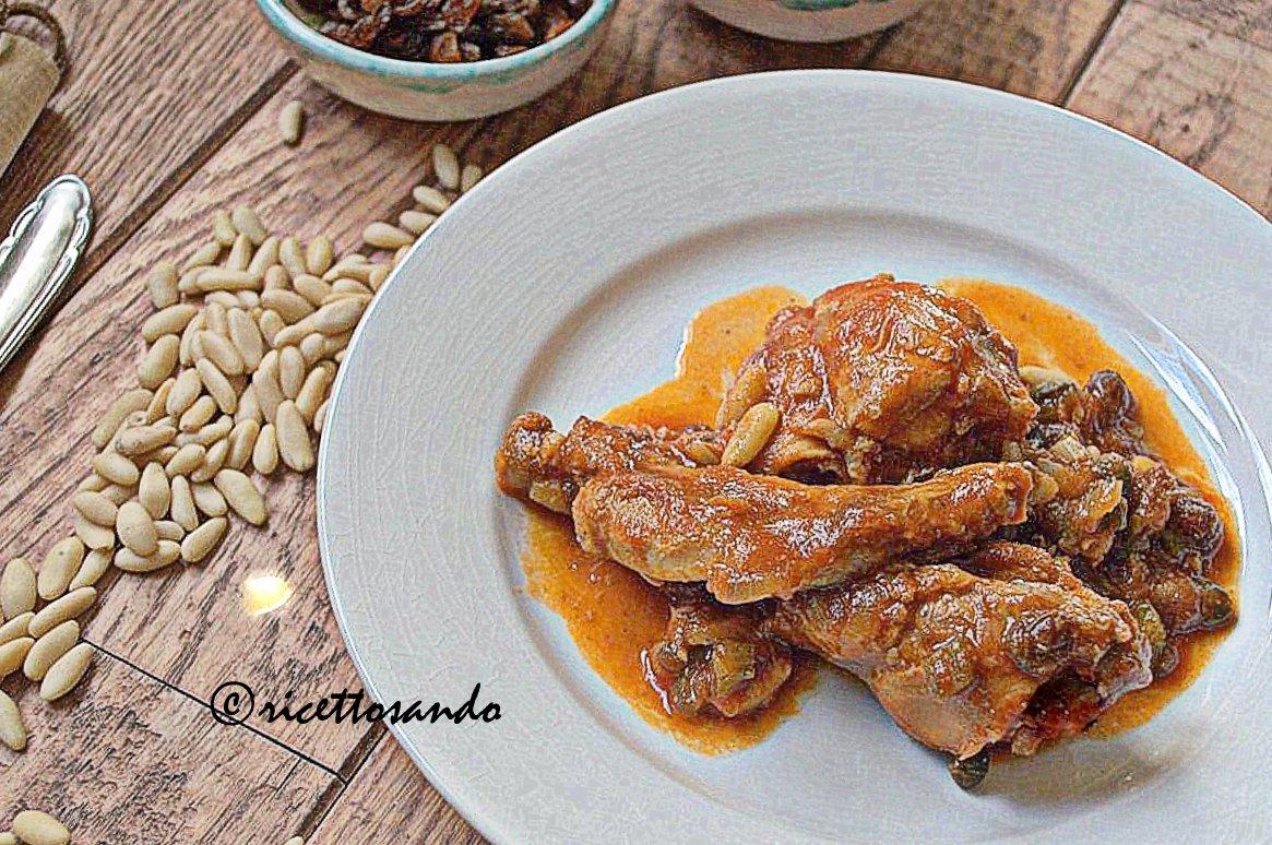 Coniglio in agrodolce ricetta di secondi di carne in salsa con contrasto di sapori