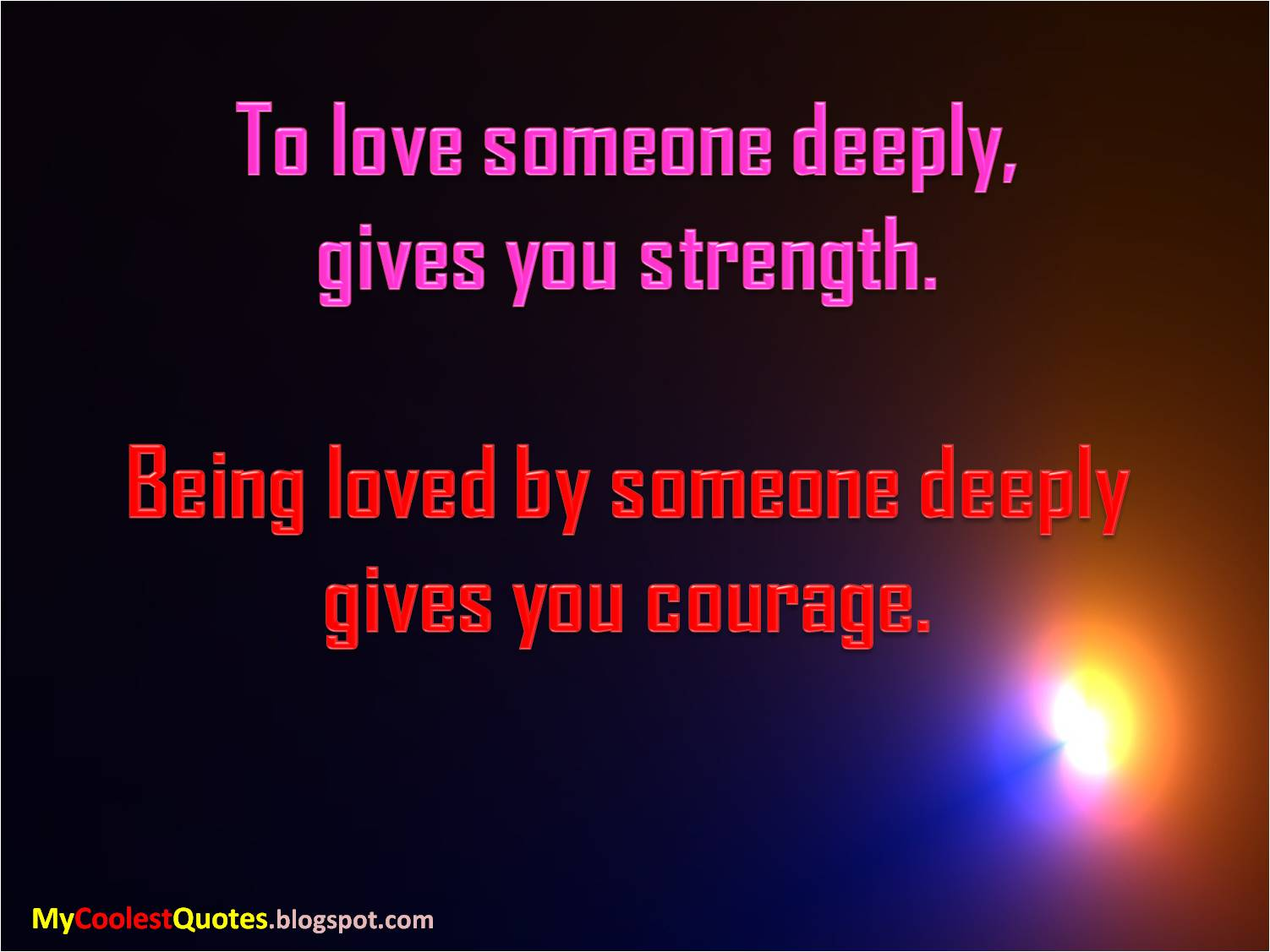 Quotes About Loving Someone My Coolest Quotes To Love Someone Deeply Gives You.
