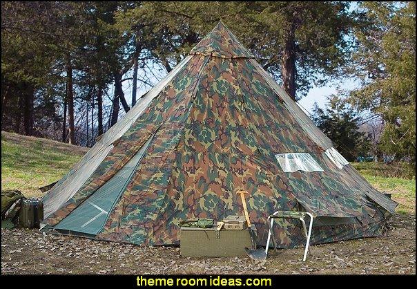 Teepee Tent Camo