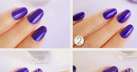 how to get amazing nails with cool design  tutorial
