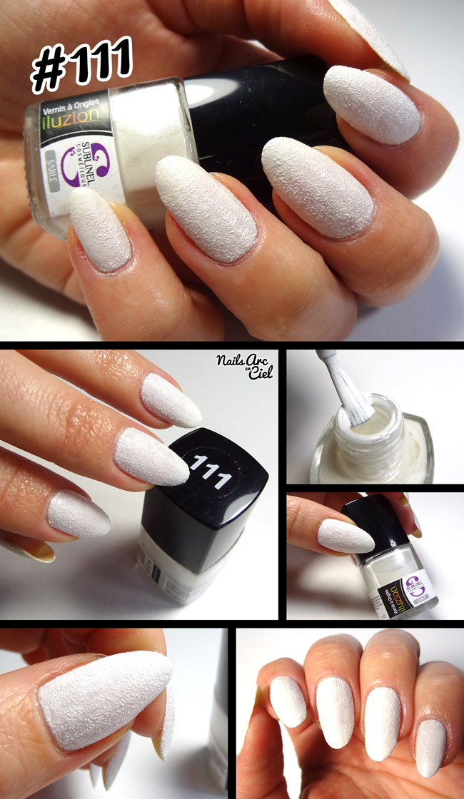Vernis Ocibel Sublinel iluzion Blanc nacré irisé #111