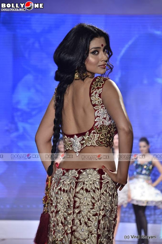 Shriya Saran Walks at Swarovski Gems Gem Visions India Photoshoot images