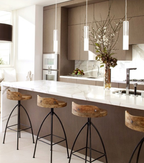 Chicdeco blog kitchens - Marmol de cocina ...