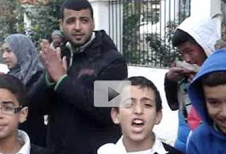 احتجاجات ساكنة مدينة أصيلة ضد أمانديس