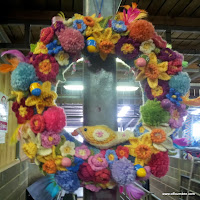 Easter Crochet Wreath