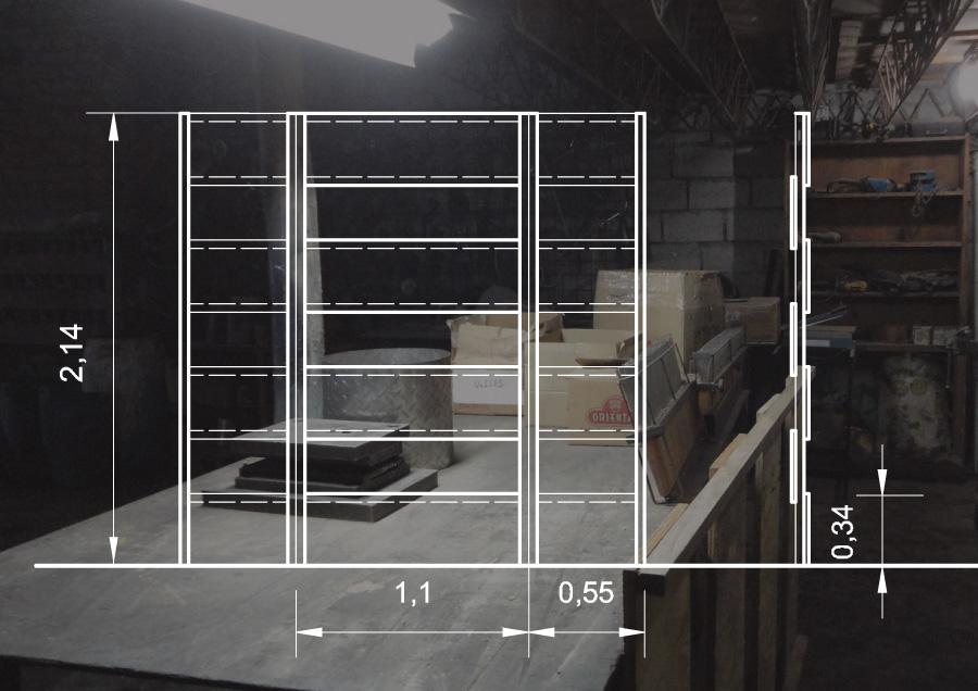 Trizquel arquitectura cabina de grabaci n m dulos ac sticos - Muebles para estudio de grabacion ...